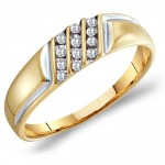 Wedding Band To Match Engagements